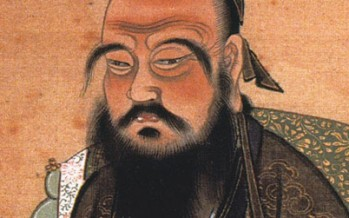 Confucius the great Chinese Teacher, Philosopher and Politicain