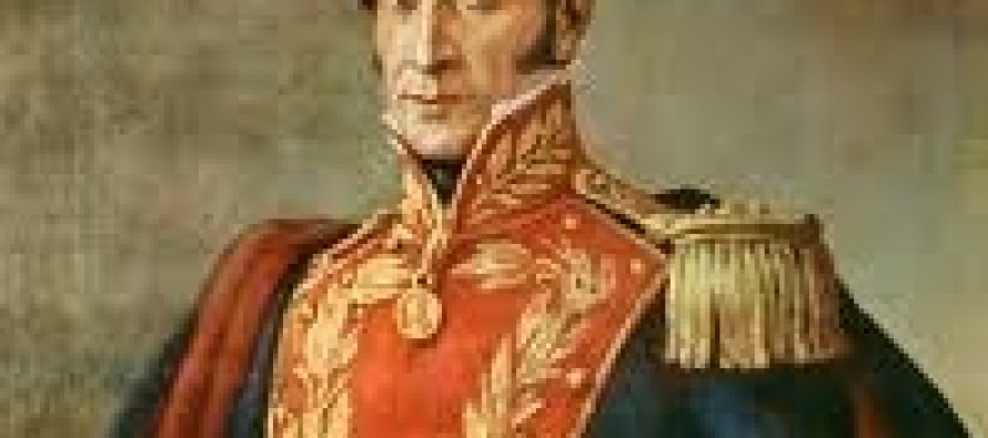 Simon Bolivar the great Latin american Politician and Genral