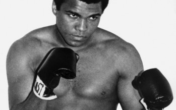 History of the first heavyweight champion boxer Muhammad Ali.