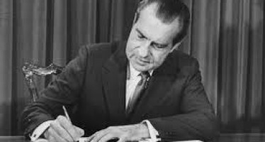 Biography of Richard Nixon, 36th Vice President of America.