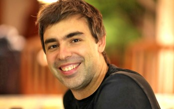 Larry Page, CEO of Google