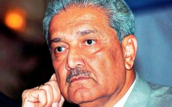 DR. ABDUL QADEER KHAN (ATOMIC SCIENTIST)!